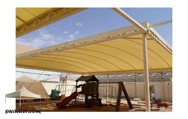 مظلات الرياض, مظلات كابولي, مظلات PVC, مظلات هرمية